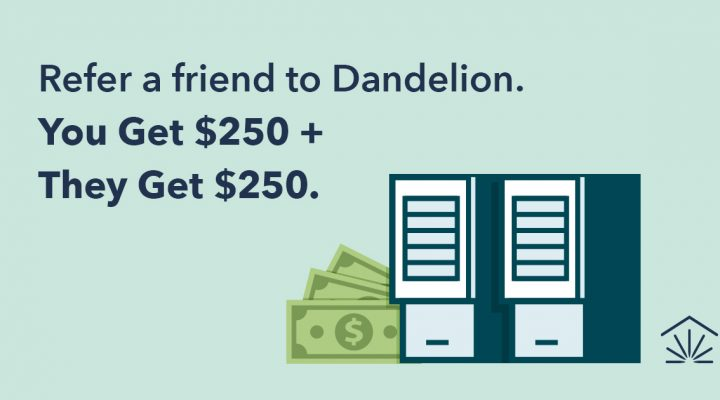 Dandelion Referral Program